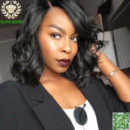 Brazilian Short Body Wave Full Lace Wig Human Hair Unprocess Lace Front Wig For Black Women Bob Human Hair Full Lace Wig