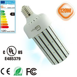 Aluminum lamp body material led corn bulb lamp 120W,factory warehouse high bay lamp UL led lights