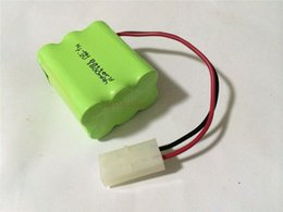 Wholesale Batteries Rechargeable Batteries New Original Ni MH V AA mAh Ni MH Rechargeable Battery Pack With Plugs