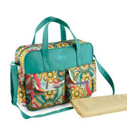 Wholesale Multifunctional bolsa baby diaper bags nappy bag mummy maternity bag lady handbag messenger bag diaper shoulder Bag