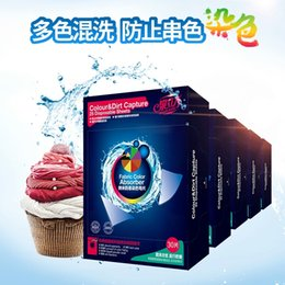 Wholesale 2016 Super Condensed Laundry Detergent Sheets with Germany Nano Technology no phosphor no harmful chemicals Color Dirt Capture Fabric Colo
