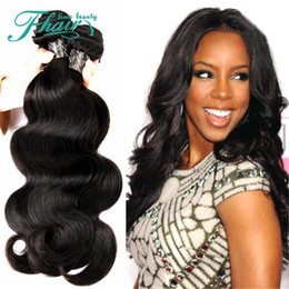 """2016 NEW Products 3 Bundles 8A Peruvian Hair Weave Body Wave Human Hair 10-30"""" Hair Wefts For Full Head Hair Extensions"""