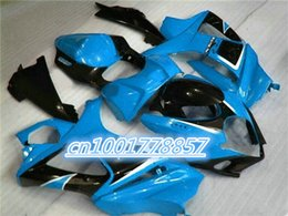 Wholesale ABS plastic fairing body kit for GSXR1000 K7 GSXR black blue green custom fairings
