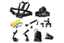 Gopro Accessories kit Headstrap Mount Selfie Tripod Monopod Wrist Strap For GoPro Hero1 SJcam Camera 01