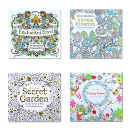 Wholesale Coloring Books educational toys Enchanted Forest Fantasy Dream Secret Garden kids toys Drawing Books baby toys
