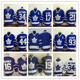 Wholesale 2016 Toronto Maple Leafs Royal Home Premier Jersey Auston Matthews Mitch Marner Wendel Clark James Van Riemsdyk Rielly