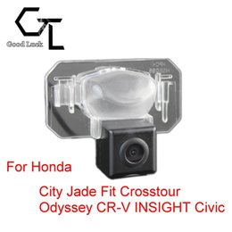 For Honda City Jade Fit Crosstour Odyssey CR-V INSIGHT Civic Wireless Car Auto Reverse Backup CCD HD Rear View Camera Parking Assistance