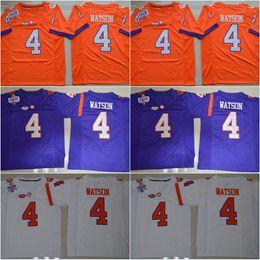 Wholesale 2016 New Style Artavis Scott Wayne Gallman II DeShaun Watson Clemson Tigers Limited College Football Jerseys Stitched Jersey Mix Order