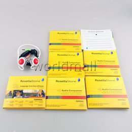 Wholesale 26 DVDs Rosettastone stone Language Library Software be Activated Language Learning DVD PK Exercise Fitness Videos Worldmall