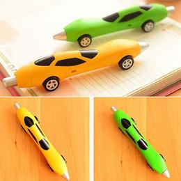 10pcs lot Classic Classic Cars Ballpoint Pens Writing Pens Blue Ink Pen Children's Toys Pen Stationery