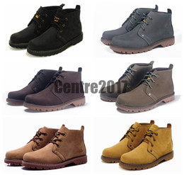 Wholesale Brand New Cat ASPECT Men Hiking Boots Shoes Suede Leather Waterproof Outdoor Shoes Breathable Camel Color Boots Shoes Athletic Shoes US