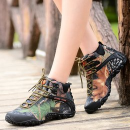 Wholesale Brand Men winter outdoor camouflage high top Women Motorcycle western desert hunting martin boots work tooling ankle climbing hiking boots