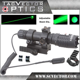 Wholesale of Vector Optics Magnus Green Laser Designator Flashlight w Scope Ring QD Mount