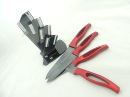 Good Price As Seen on Shop Ceramic Knife Set 4pcs of 3~6 inch Hot Selling Gifts Knives with Factory Price