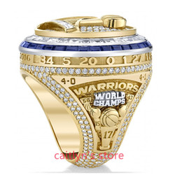 newest 2017 Golden State Basketball Warriors Curry Durant Championship Ring for man