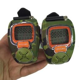 2017 relojes de pulsera piezas Venta al por mayor reloj de pulsera-talkie walkie talkie de mini dos vías de radio walkie transmisor libre RD-008B 2 pedazos / porción relojes de pulsera piezas en venta