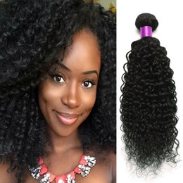 4Pcs Brazilian Malaysian Mongolian Kinky Curly Human Hair Extensions Brazilian Virigin Human Hair Weaves Afro Kinky Curly Hair Human Wefts