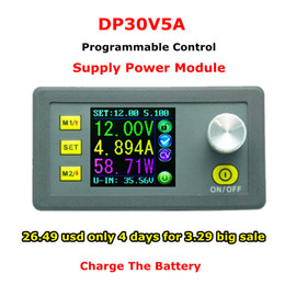 Wholesale RD DP30V5A Constant Voltage current Step down Programmable Power Supply module buck Voltage converter regulator color LCD