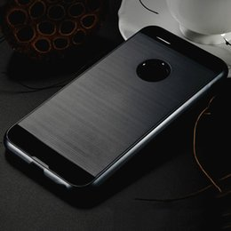 For Altice S20 S60 S70 Lars Mars Brushed Metal Case Hybrid Dual Layer Defender Slim Armor Cases Back Cover