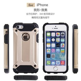 for Apple 6   6s extraordinary Armor combo phone case shell drop resistance armor Wholesale Custom free shipping