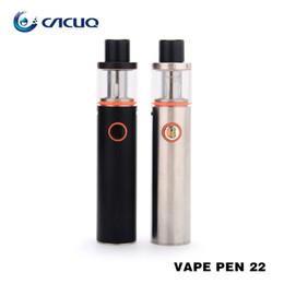 SMOK Vape Pen 22 Starter Kit with 1650mAh Battery Capacity & LED Indicator 100% Original e cig vape pen
