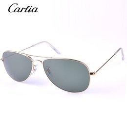 Wholesale Carfia hot sale sunglasses for men women driving sunglasses mm cockpit glasses top quality with original box case