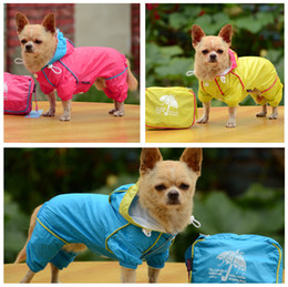 Wholesale Fashion Design Dog RainCoats Puppy Clothes Pet Outwear Clothes Big Small Dog jacket Clothes Jumpsuits Shits