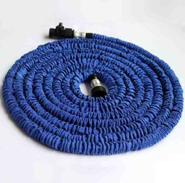 Wholesale 75ft ft Expandable Magic Flexible Garden Hose Aliumum Conector For Car Water Hose Pipe Plastic Hoses To Watering With Spray Gun