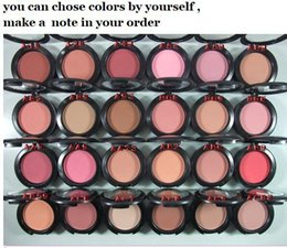 Wholesale Free DHL new bubble pink rouge cream blush blush make up for face color to choose with english name