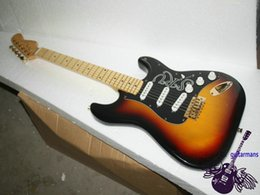 wholesale Guitar Factory Custom guitar Sunburst SRV Electric Guitar hot selling Classic Electric Guitar from china OEM Guitar