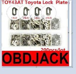 2016 Best100% TOY43AT Car-Lock Reed Locking Plate TOY43AT Car Locks Tablets Lock Spring, Locking Plate Auto Locksmith Tool Repairing Word
