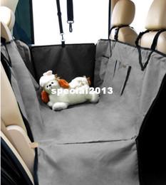 Скидка чехлы собаки сиденье Оптовая Pet Supplies сиденья собаки любимчика автомобиля Обложка Водонепроницаемый Hammock Серый