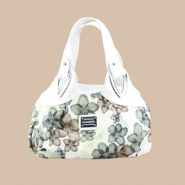 Women New Crossbody Bags Satchel Fashion Tote Messenger Leather Purse Shoulder Handbag Printing Flower Hobos Bag For Female