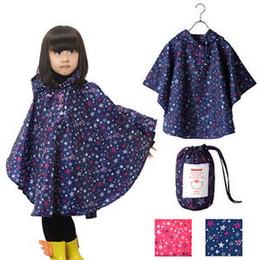 Wholesale Children S Hooded Poncho - Boy Girl Children Kids Raincoat Rain Coat Rainwear Rain Suit Poncho Cape Hooded S,M,L,XL