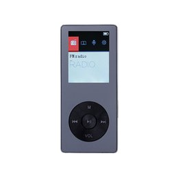 Wholesale New Metal quot Screen FLAC Music Player Portable Digital Audio Player MP3 player with FM Radio Voice Recorder