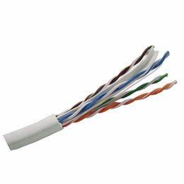 Wholesale Manufacturer Supply best price core shielded cable Cat e UTP Cable Twisted Pair Cat Network Cable