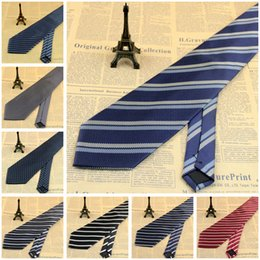 Wholesale Gentle Man Neck Ties Hot Sales Stripes Business Neck Ties piece Party Support Drop Shipping Customize Service