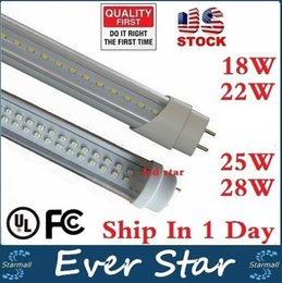 Wholesale 4ft led t8 tubes Light W W W W mm Led Fluorescent Lamp Replace Light Tube AC V No Tax Fee