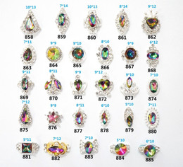 Glitter Rhinestones 3d Metal Alloy Nail Art Decorations New Arrive Nail Charms Jewelry on Nails Salon 858-885