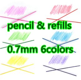 Wholesale Mechanical Pencil Colors refills coloed set mm perfect for Pilot Eno juicy Automatic Mechanical Pencils adult coloring book