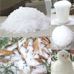 Wholesale Christmas Tree Decorations Instant Xmas Magic Snow Powder For Xmas Christmas Home Decoration Artificial Snow Scene Navidad