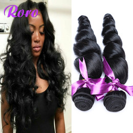 Virgin Peruvian Human Hair 4 Bundles Remy Hair Weft Cheap Price Good Quality Real Human Hair Bundles 4Pcs Lot Brazilian Hair Weaving