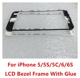 Wholesale LCD Frame LCD Holder Middle Bezel Digitizer Frame With Strong hot glue For iPhone G S C quot Plus SP S Inch