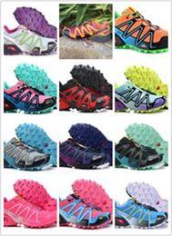 Wholesale 2016 Hot New women s Speedcross Athletic Sports shoes women s Outdoor zapatillas salomón Trail Racing zapatos de senderismo