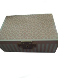 Wholesale Red color Jewerly Box wooden jewerly box gift box