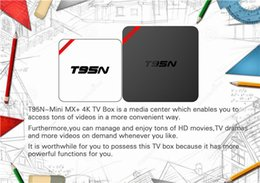 Mini boîte hd en Ligne-T95N Mini MX + Amlogic S905 Android TV BOX Kdplay 16.0 4K Live TV VS MXQ M8S Q BOX Smart TV BOX