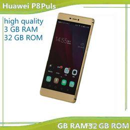 Las mini cámaras digitales en Línea-El envío libre abrió el teléfono inteligente Huawei P9 Plus 5,5 pulgadas de doble sim 1920 * 1080P HD MTK6582 cuerpo metálico de 32 GB ROM de Android 6.0 13.0MP cámara