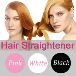 Wholesale Hair Comb Magic Hair Brush Straightener Auto LCD Fast Hair Straightening Irons Flat Digital Ceramic Tourmaline Heater Hot Air Straighteners