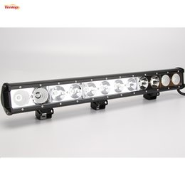 Wholesale 25 quot Inch Cree W LED Grille Bumper Light Bar For Jeep SUV ATV Offroad