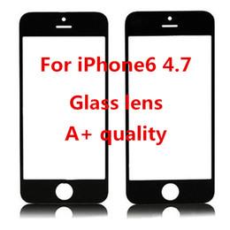 Descuento iphone vidrio de alta calidad 100 reparación impermeable de la lente de cristal de la pantalla táctil de la alta calidad de la alta calidad A +++ de la alta calidad para la fábrica del iPhone 6 iphone6 6g DHL libre de la fábrica
